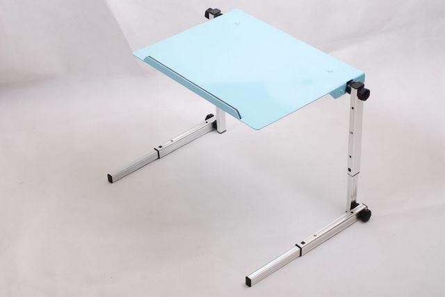 Black Laptop Table Coaster Laptop Adjustable Swivel Top