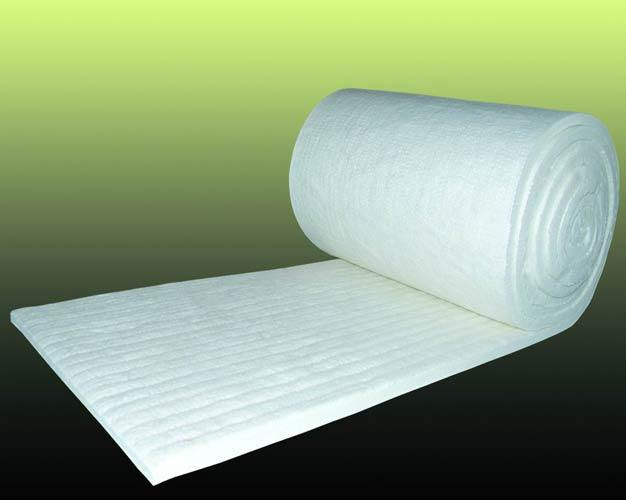 Ceramic Fiber Wool Aerogel Blanket for Thermal Insulation