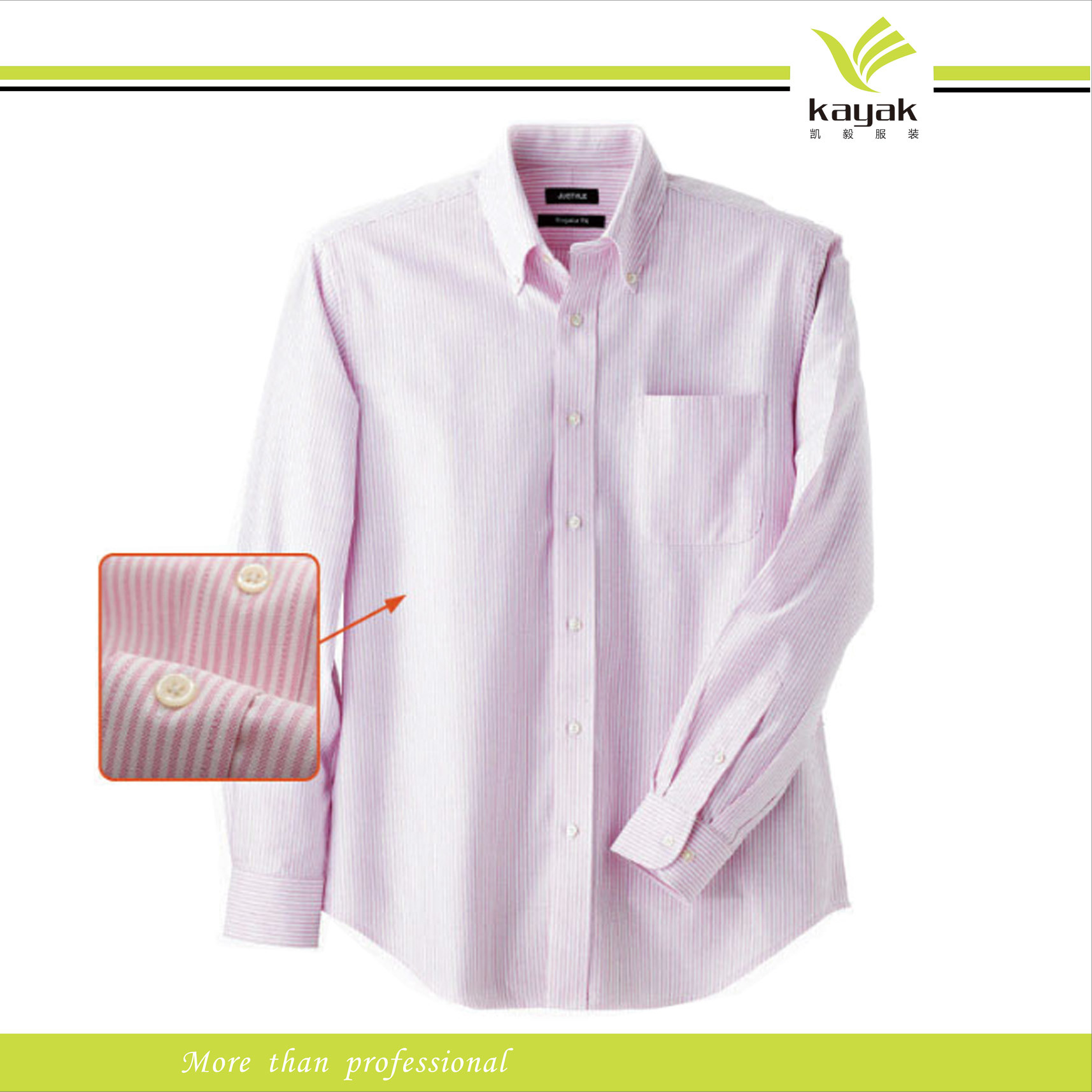 Custom High Quality Fashion Cotton Man's Dress Shirts (S-01)