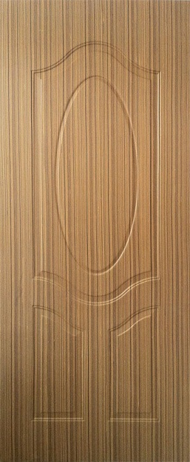 Oval Panel Plywood Moulded Door with Lower Cost