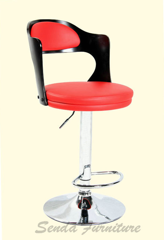 China Bentwood Back Modern Commercial Bar Stool Sd 2005