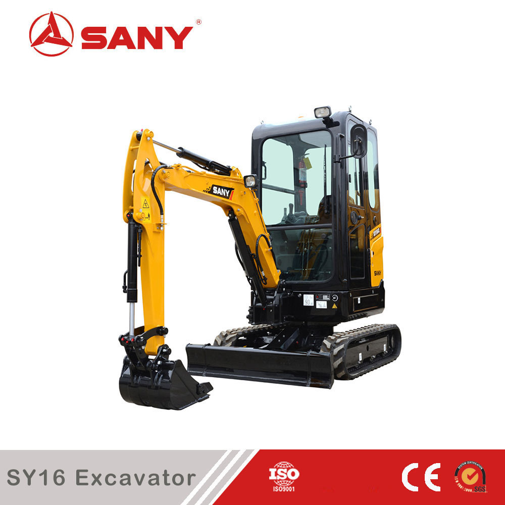 Sany Sy16c 1.6 Tons Mini Garden Excavator Price for Sale