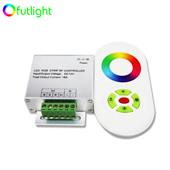 china rf wireless touching rgb led controller china led. Black Bedroom Furniture Sets. Home Design Ideas