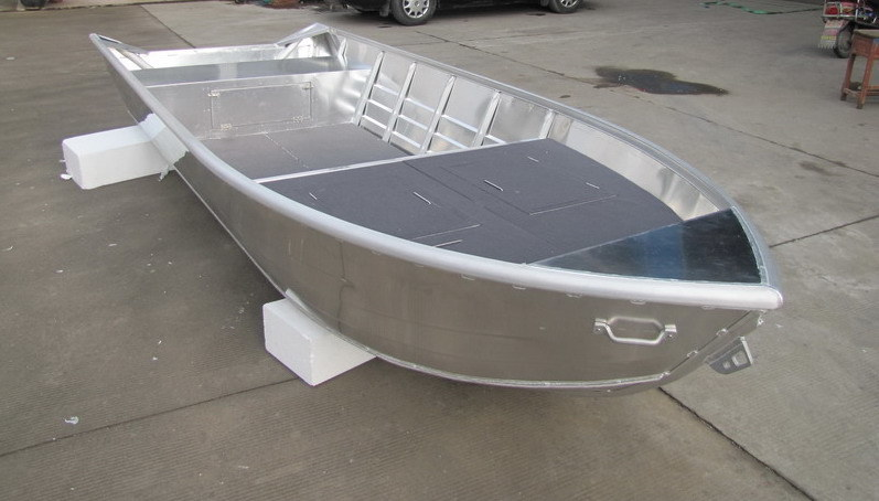Fishing boats welded aluminum boats for Aluminum fishing boats