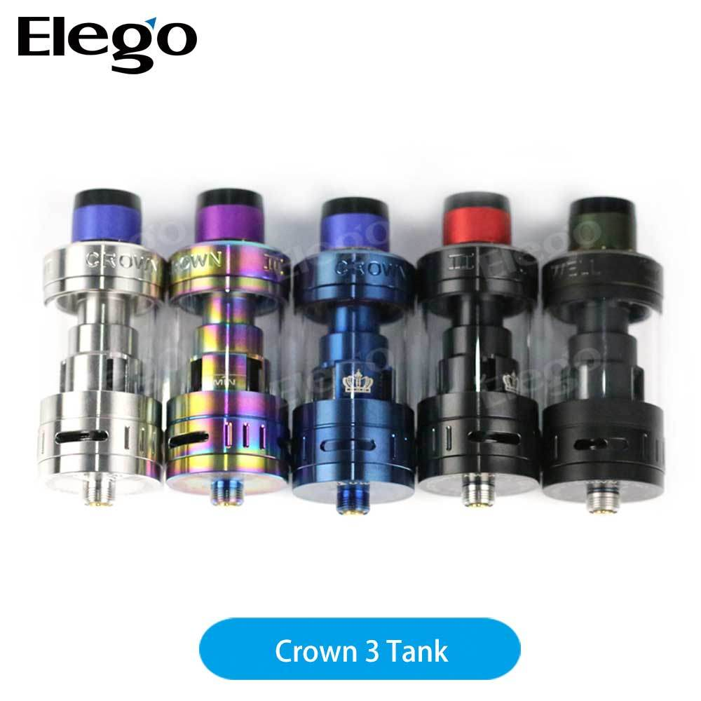 Top Filling Uwell Crown III Tank, High Quality Uwell Crown 3 Atomizer, Newest Uwell Crown III Tank, 5ml Crown 3 Tank