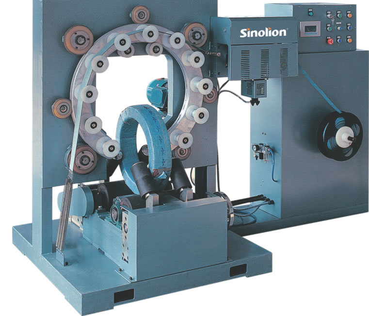 Automatic Ring Wrapper for Steel Coil