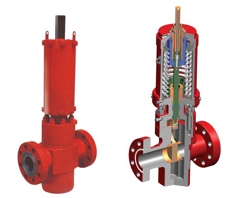 Wellhead Hydraulic Surface Safety Valve