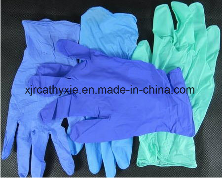Nitrile Disposable Gloves (Nitrile examination gloves)