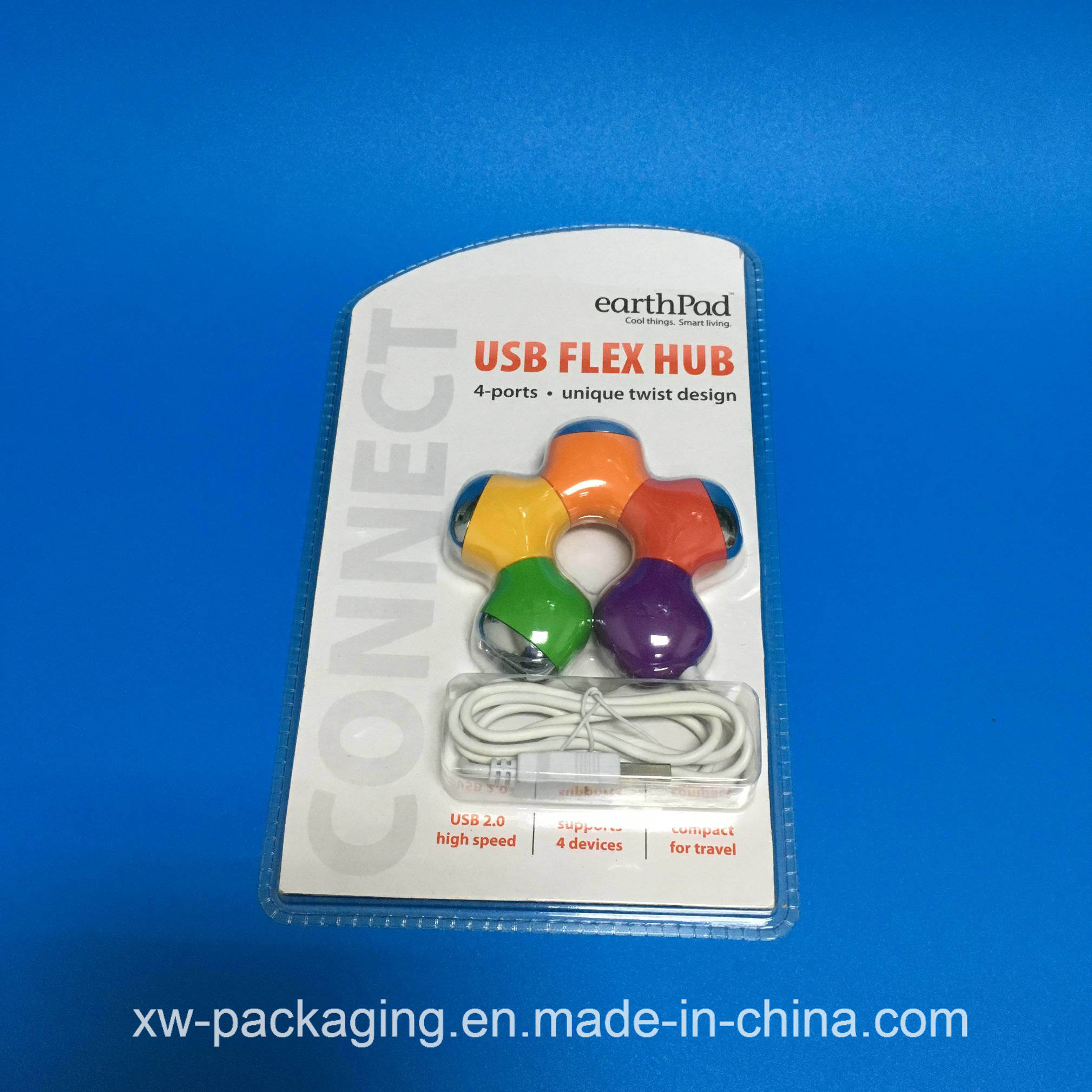 China Clear Blister Tray for Electronic Plastic Packaging