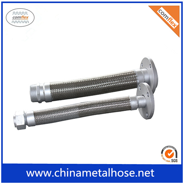 ISO Standard Wire Braided Stainless Steel Flex Tube