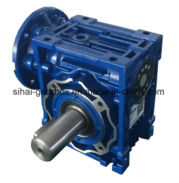 Input Flange B14 with Output Shaft Worm Gearbox Power Transmission