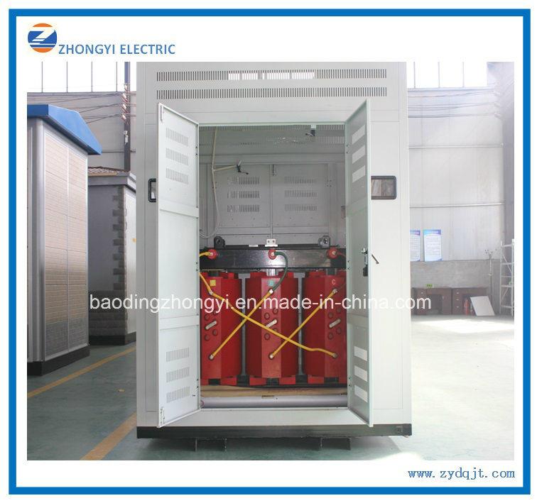 Factory European Type Power Distribution Box Transformer 11kv Substation