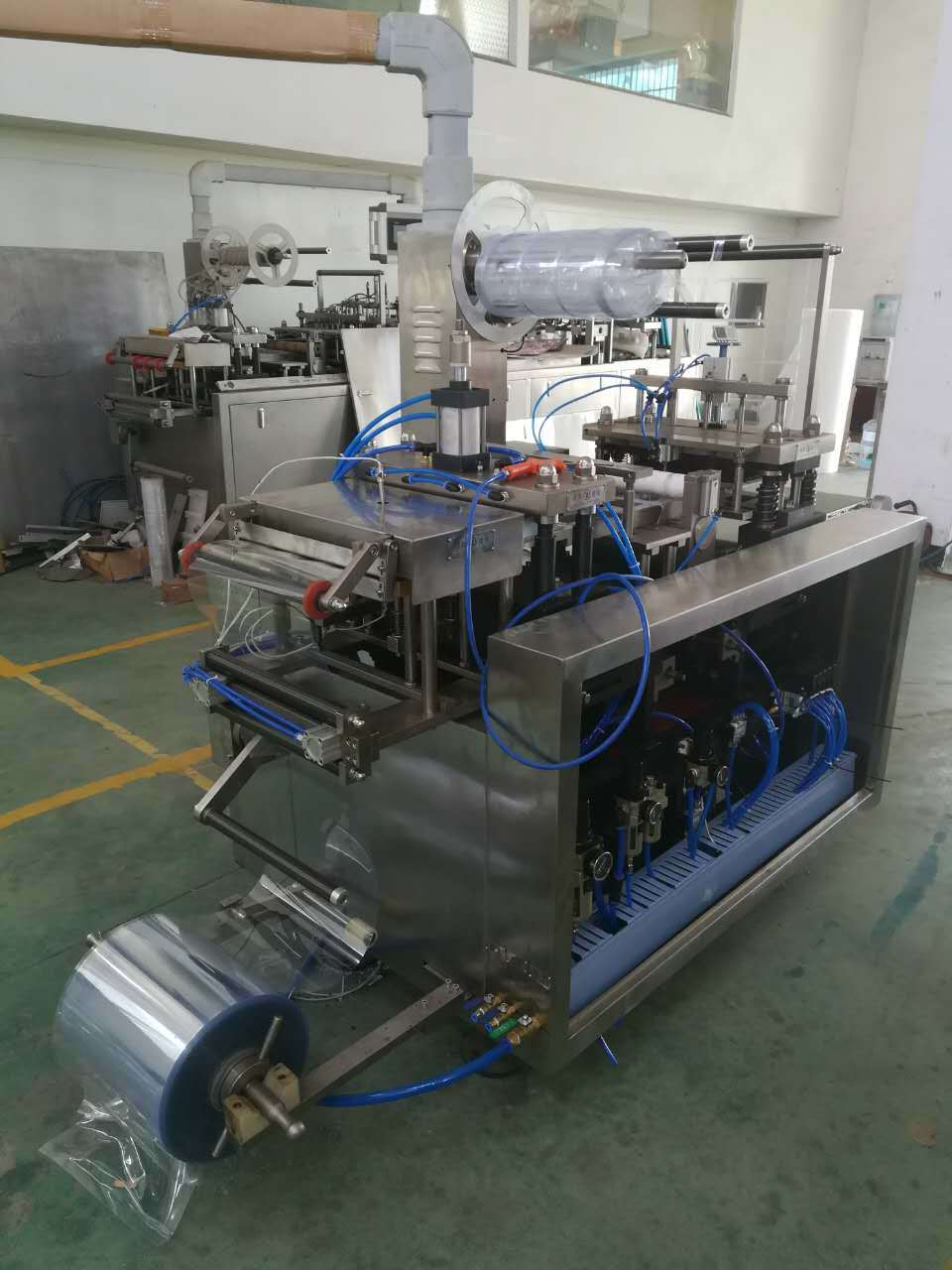Disposable Razor Papercard Packing Machine Auto