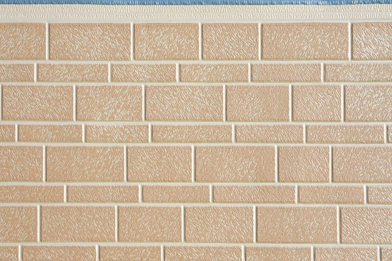 Heat Insulation Exterior Decorative PU Foam Sandwich Wall Panels