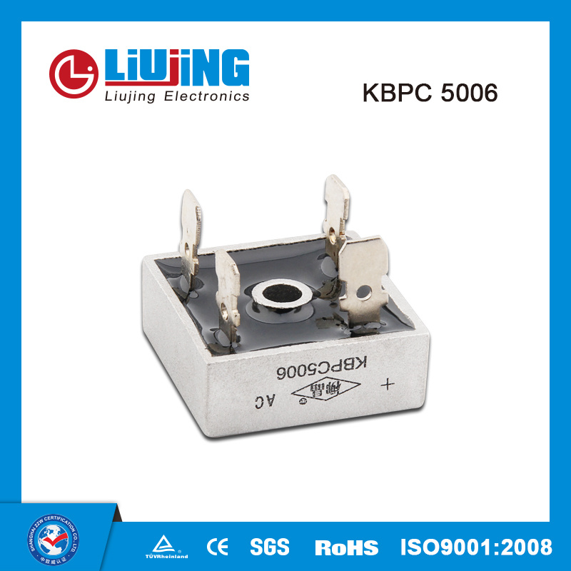 Kbpc5006 50A 600V Single Phase Bridge Rectifiers