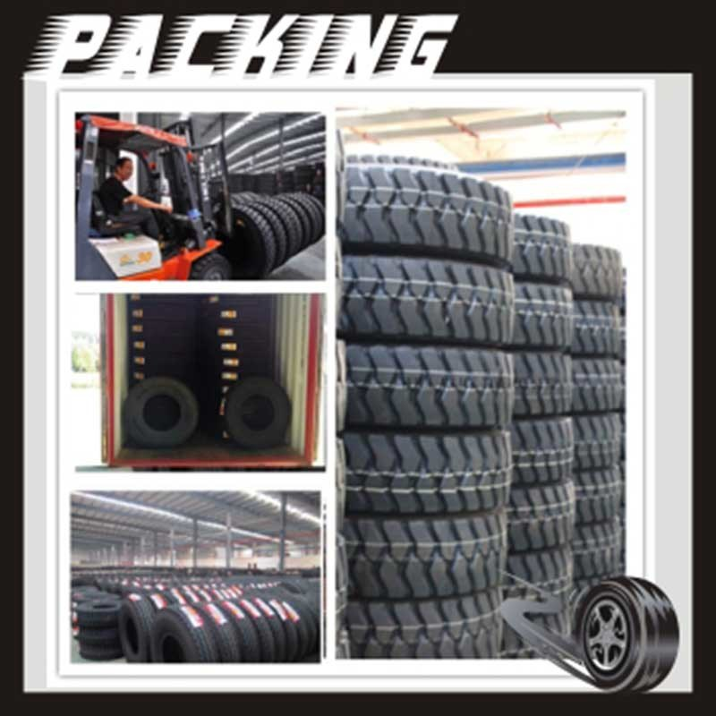 Heavy Duty Tubeless Truck Tyre Made in China TBR Tire