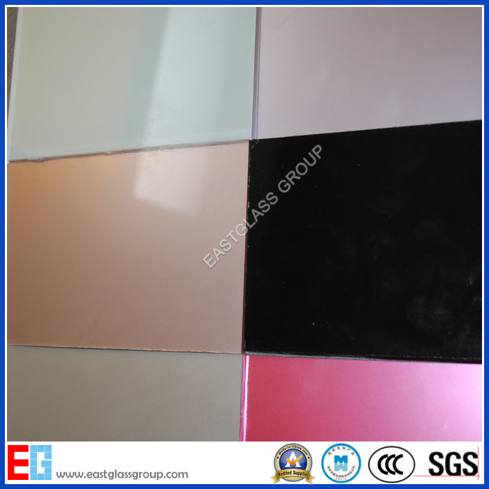 3mm-8mm Back Painted Glass/White Painted Glass/Painted Glass with Red, Blue, Green, Black Color