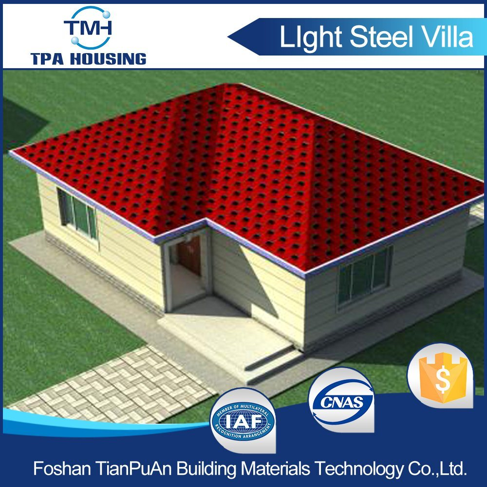 Prefab Home Kit in Steel Structure Shed Design