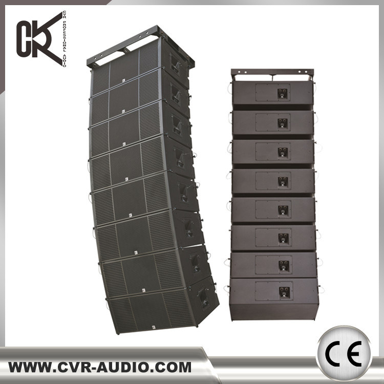 Dual 12 Inch 3 Way Line Array Speaker System