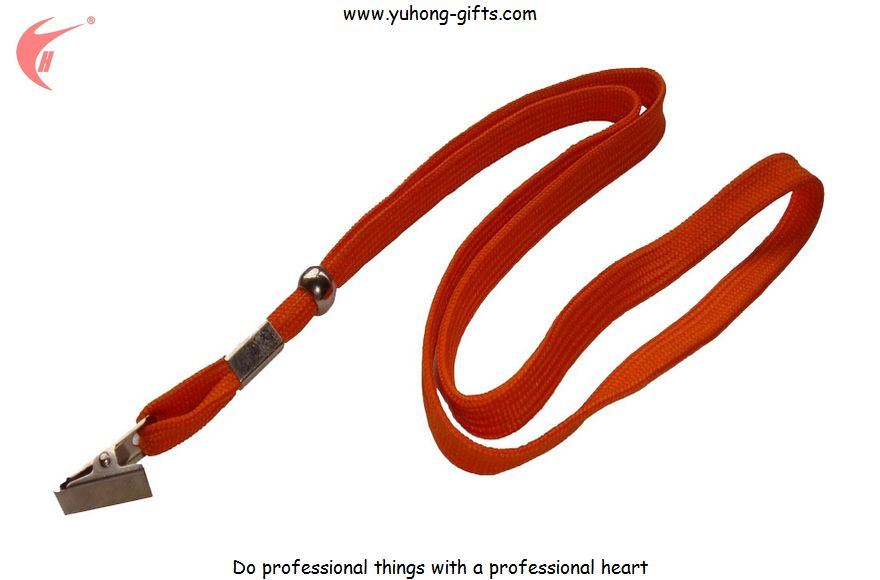Promotional Polyester Lanyard with Dog Clip (YH-L1218)