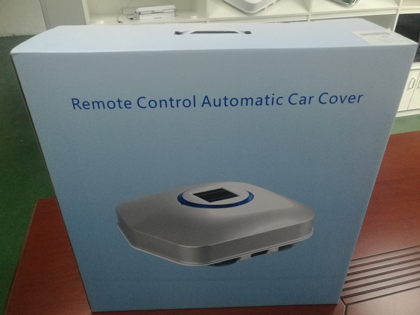 All New Car Accessory with Mobile APP for Car Sun Shade