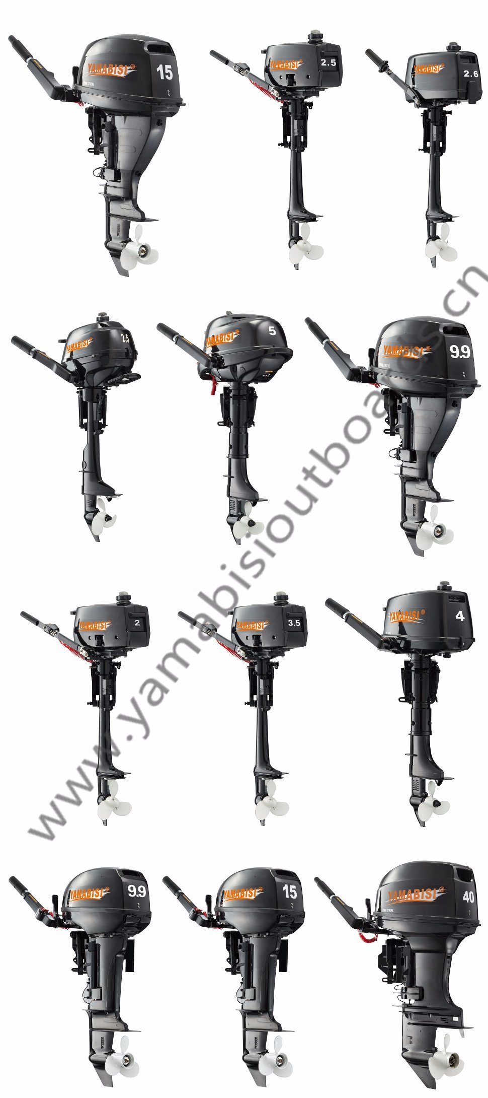 2 Stroke 40HP Yamabisi Outboard Motor/ Outboard Engine