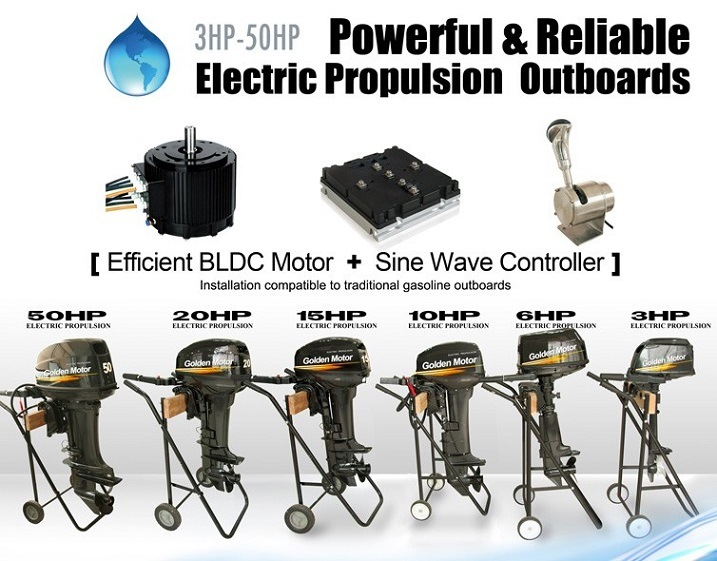 20HP Electric Boat Engine/ Electric Outboard/ Electric Outboard Engine for Marine