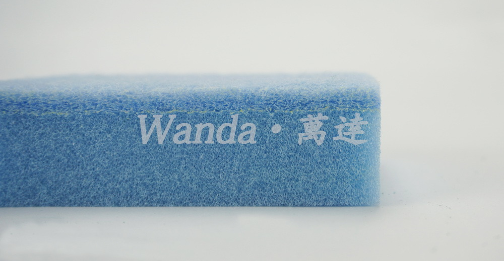 Colorful Medium Duty Cleaning Sponge Scouring Pad with Soft Sponge