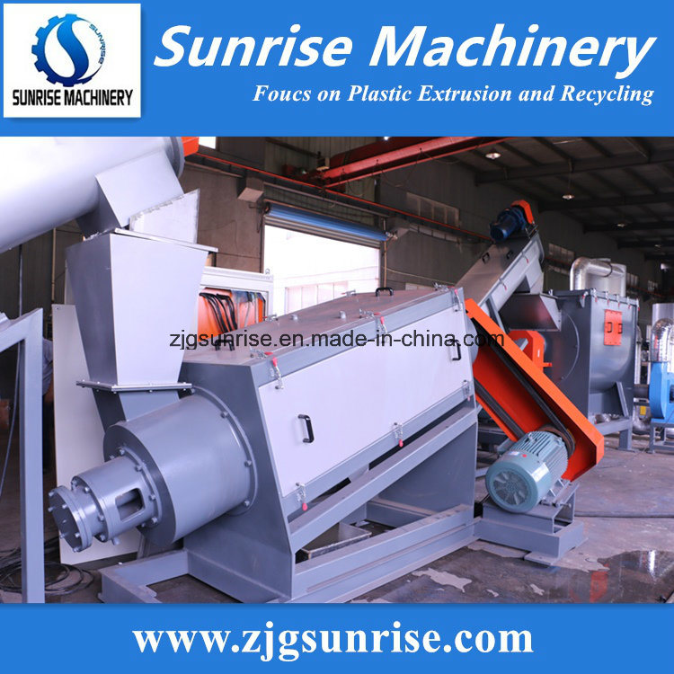 PE PP ABS Pet Waste Plastic Recycling Washing Granulating Machine