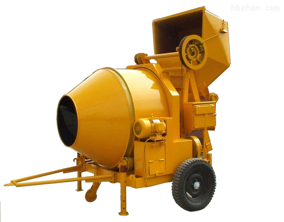 Self-Loading Hydraulic Diesel Engine Concrete Mixer