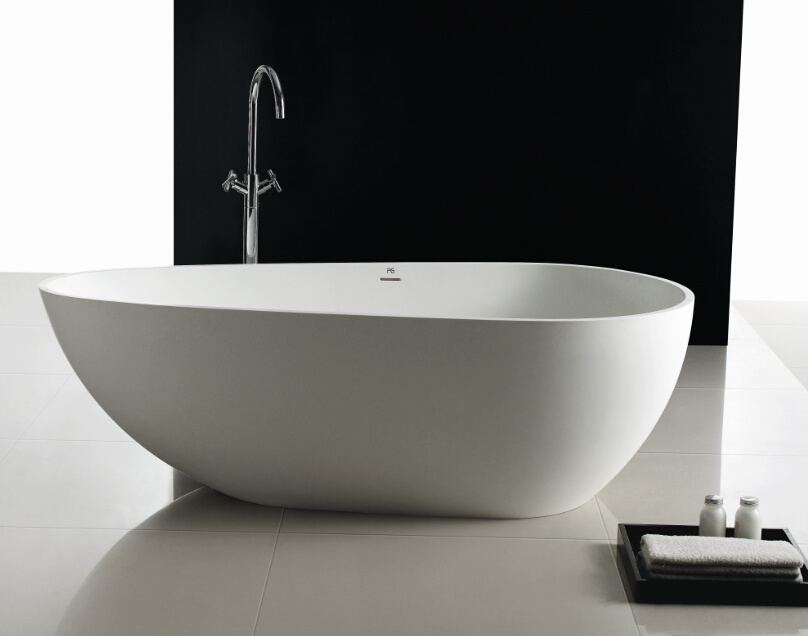 Oval Shape Freestanding Bathtub