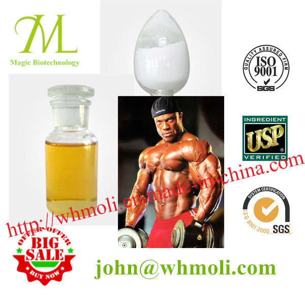 Boldenone Cypionate 106505-90-2 White Injectable Anabolic Steroids with 100mg/Ml