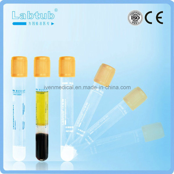 High Quality Separation Gel Vacuum Blood Collection Tube