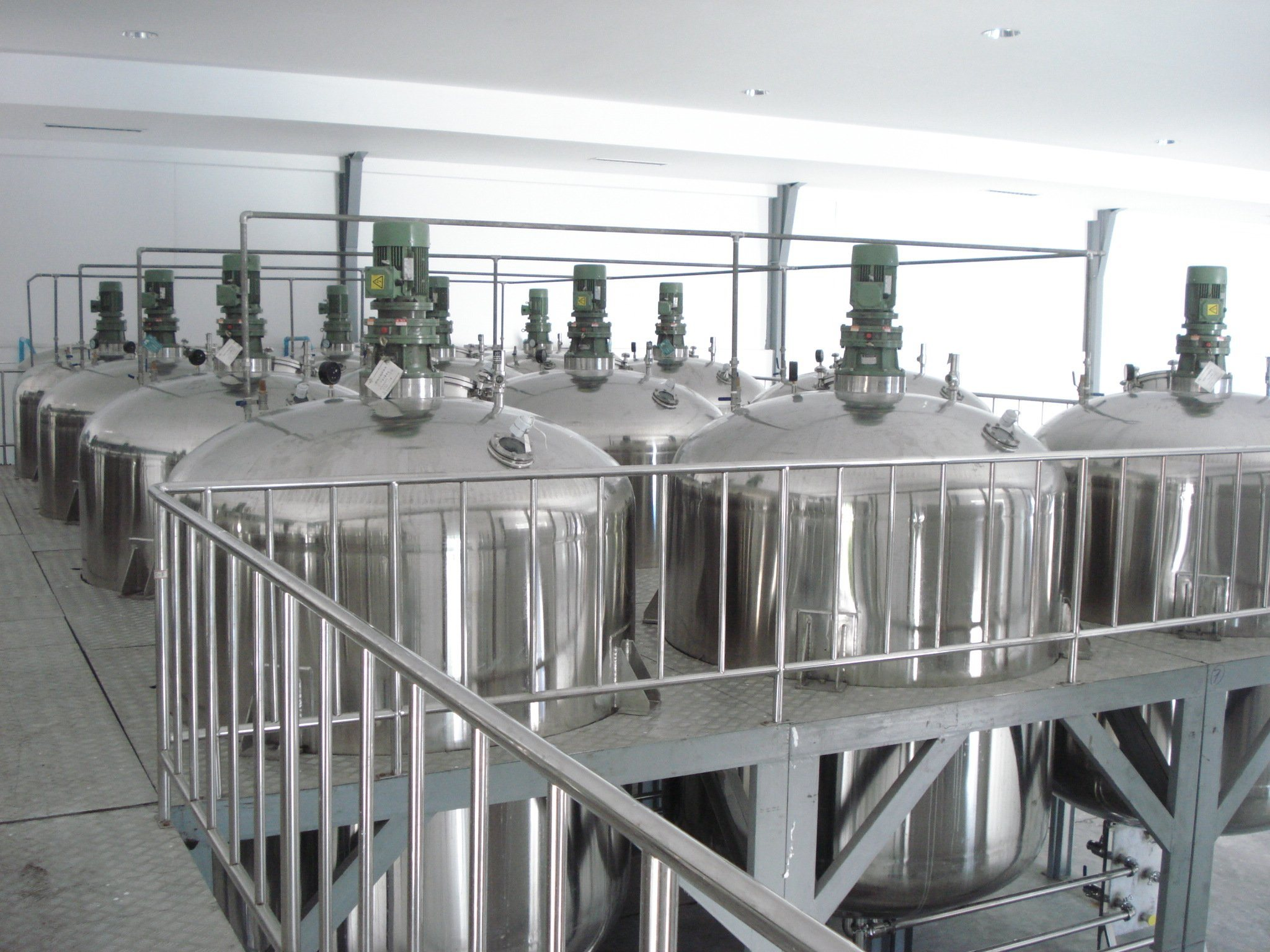 Mature Technology Liquid Washing Production Line Machinery