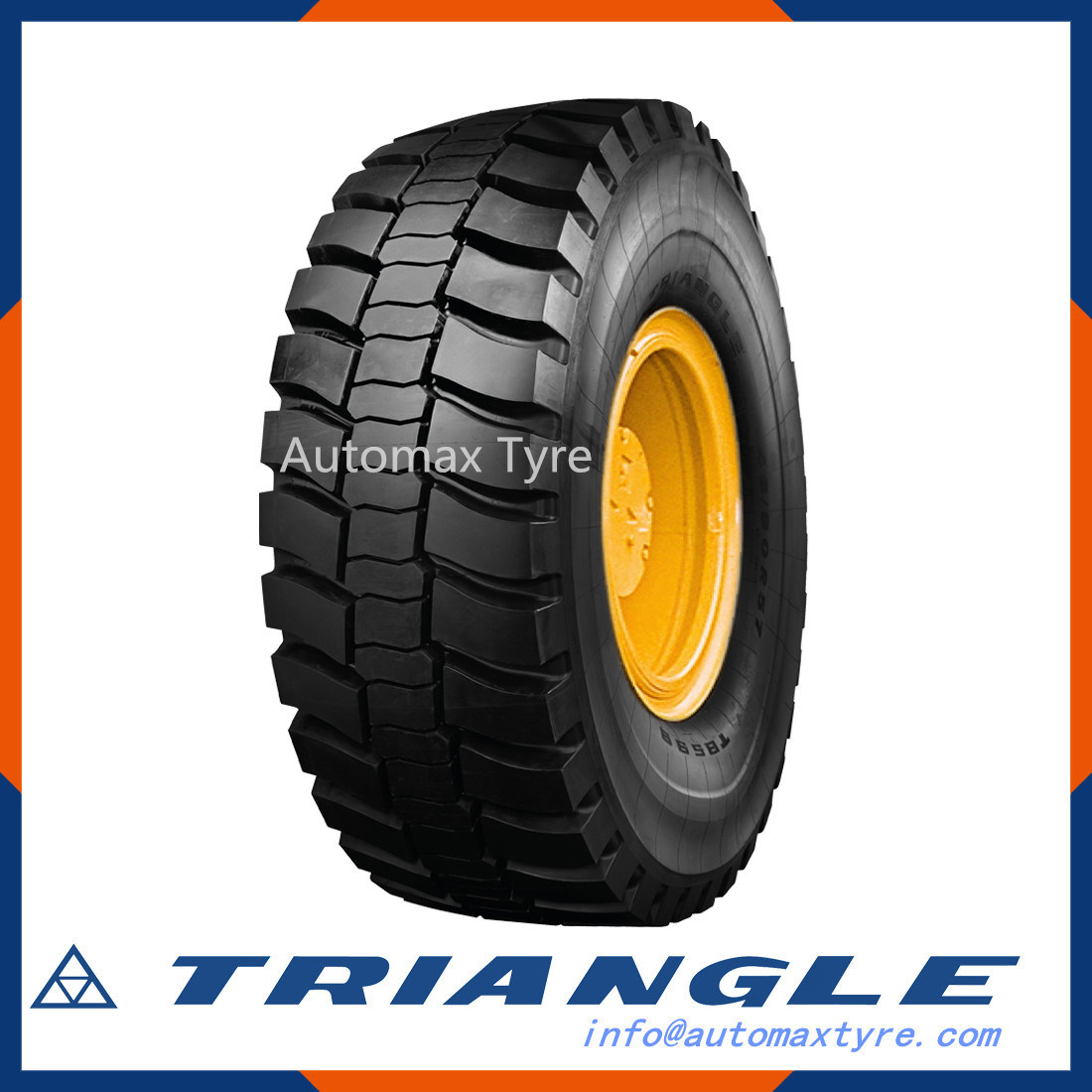Steel Radial Tubeless Tyre R13-R22, R17.5-R24.5, R25-R57 with EU Certification
