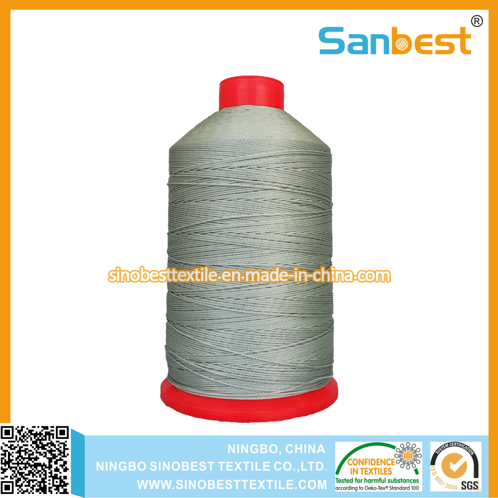 100% Nylon Continuous Filaments Sewing Thread Nylon 6.6 30% Stronger