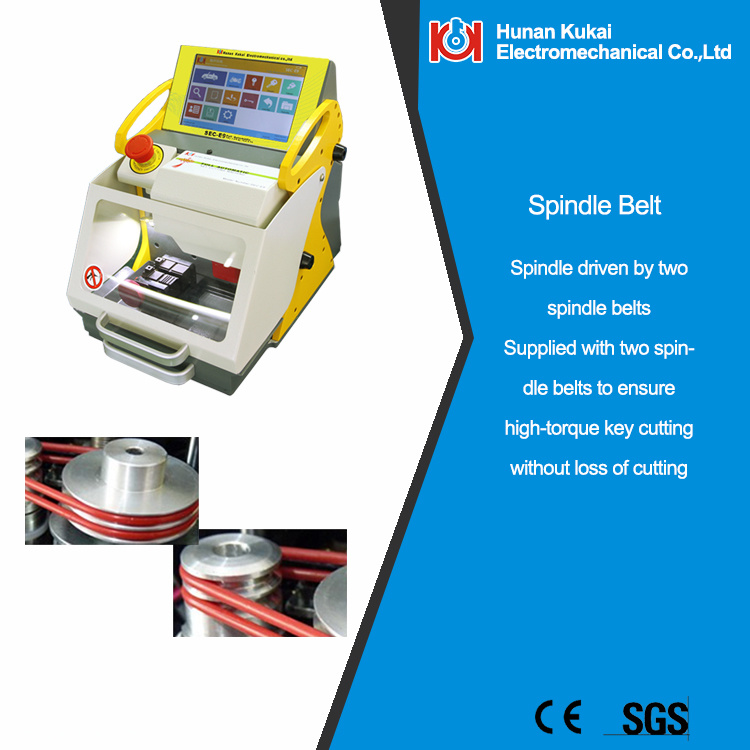 Newest Professional Key Cutting Machine Sec-E9 for Automobile and Household Keys