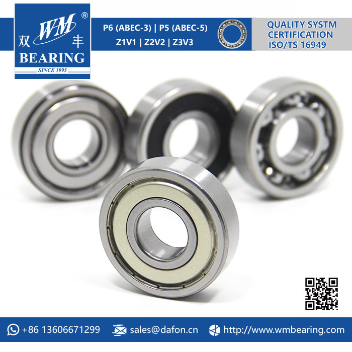 6304 Zz 2RS High Speed Spindle Radial Ball Bearing