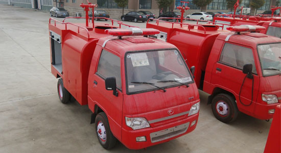 1500liters 4X2 Forland Mini Foam Fire Truck