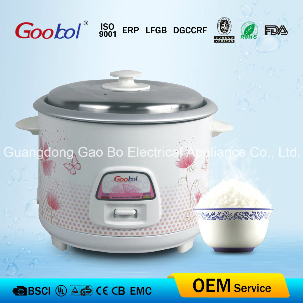 Flower Housing Straight Rice Cooker, 1.5L Capacity