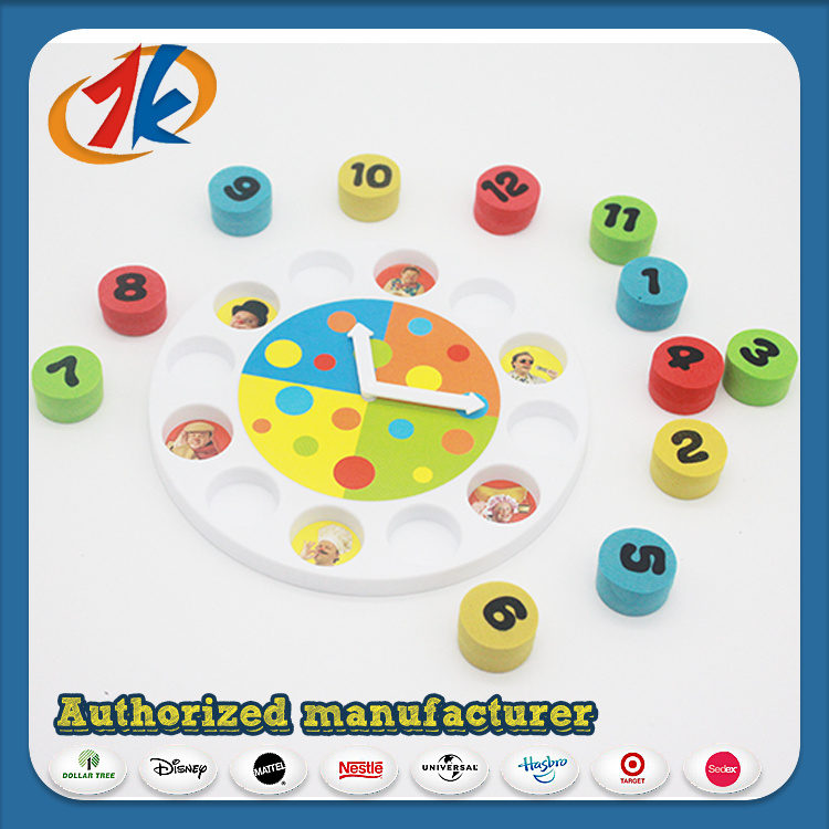 Educational Toy EVA Clock Toy for Kids