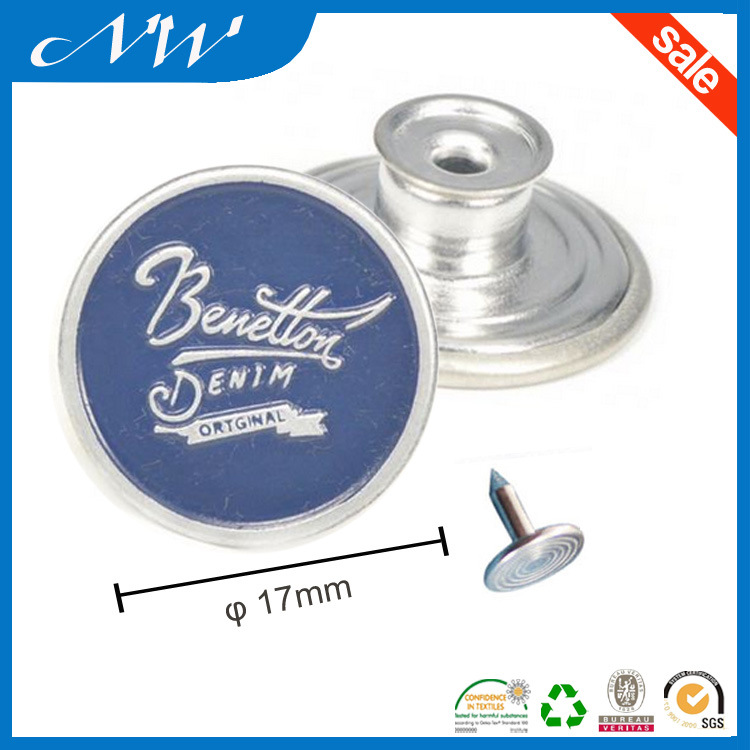 Customized Spray Metal Buttons of Jeans Button