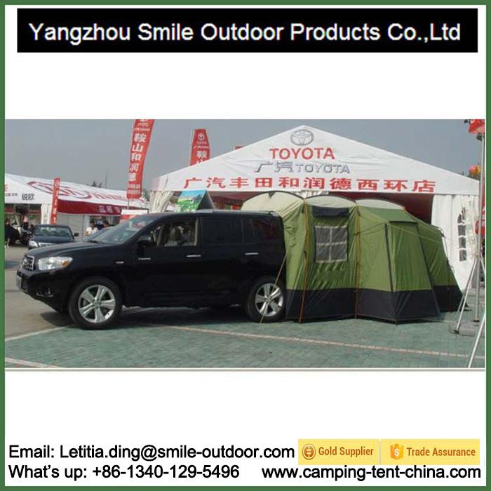New Design 4 Person Family SUV Car Camper Trailer Tent