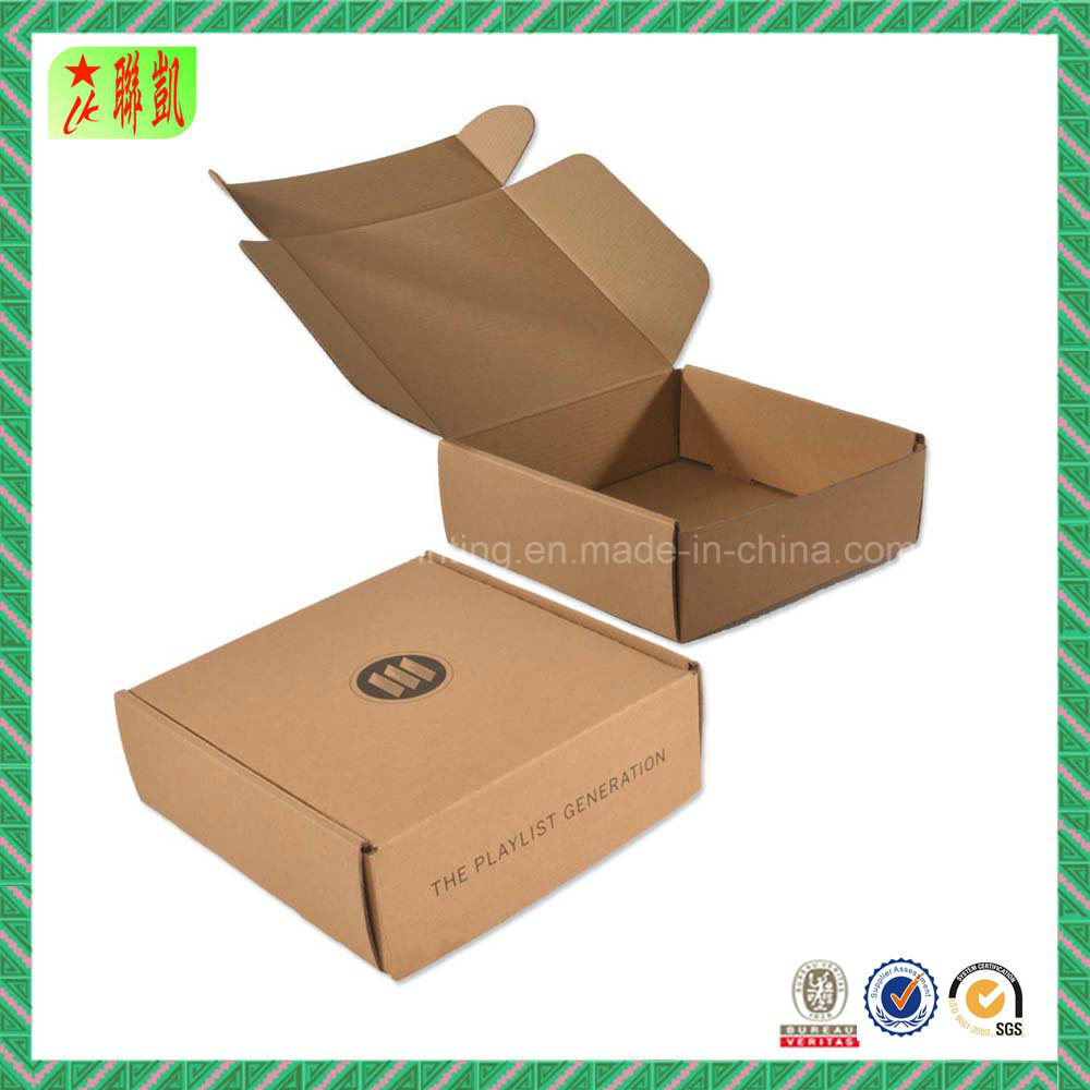 Natural Kraft Corrugated Paper Packaging Box