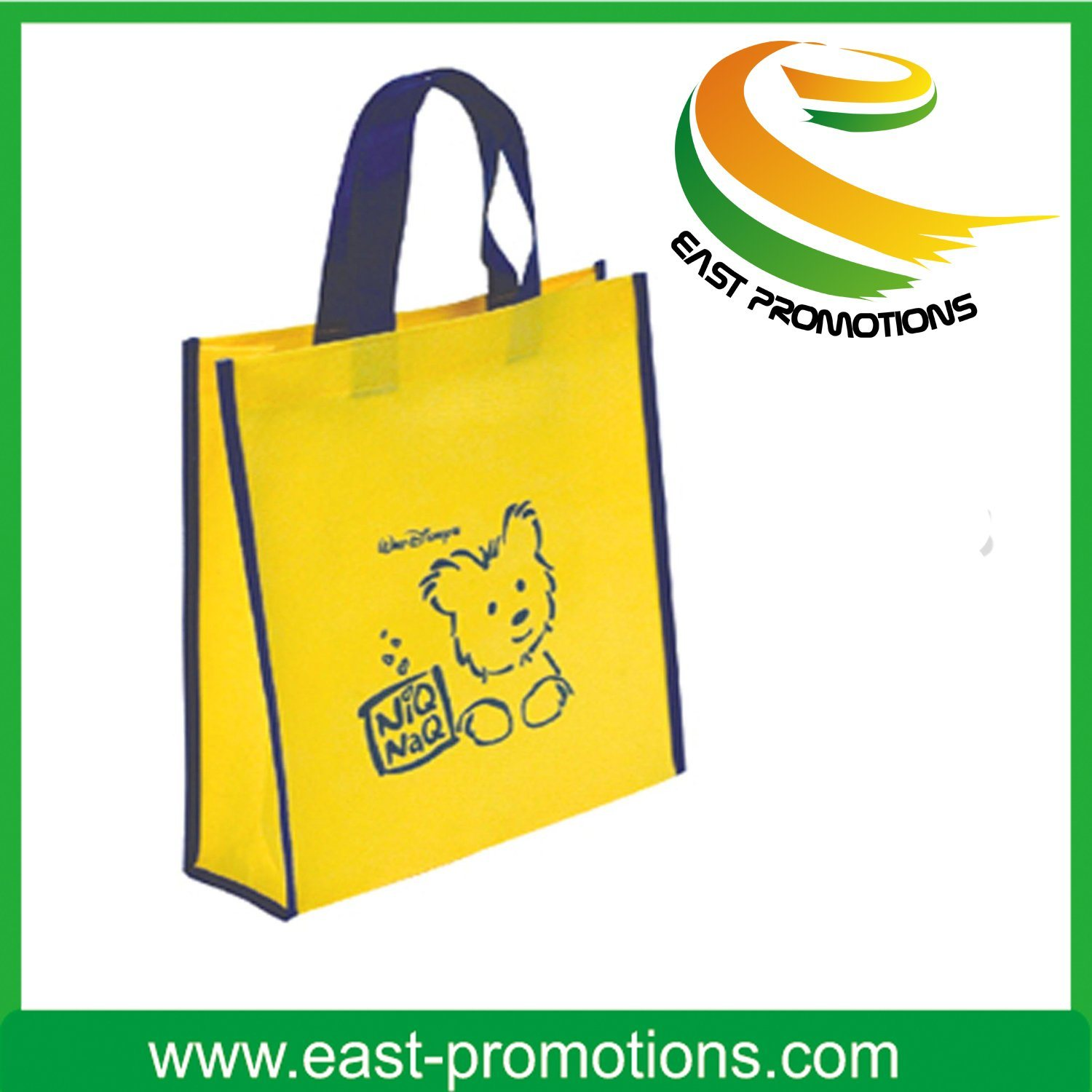 Customize Simple Style Nonwoven Shopping Bags