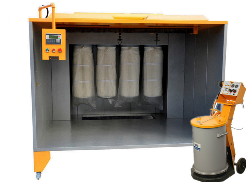 Manual Powder Coating Spray Booth for Metal Spray