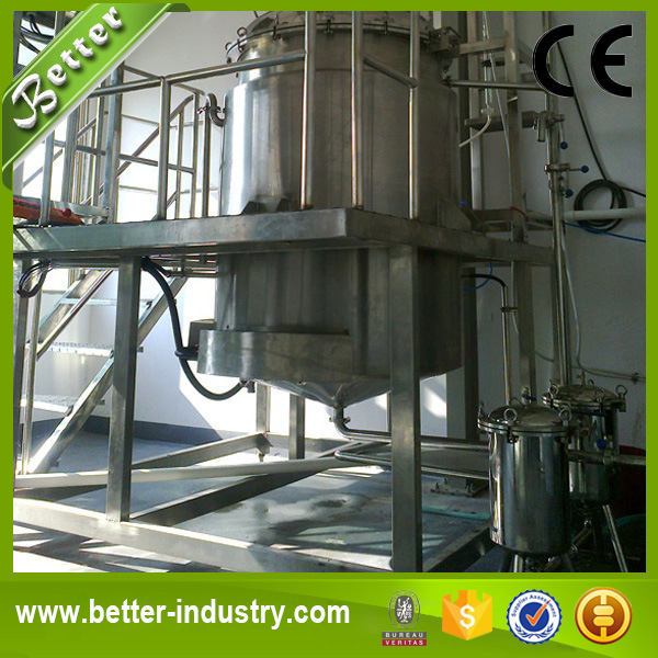 Jasmine Essential Oil Solvent Extraction Machine / Essential Oil Distillation Unit