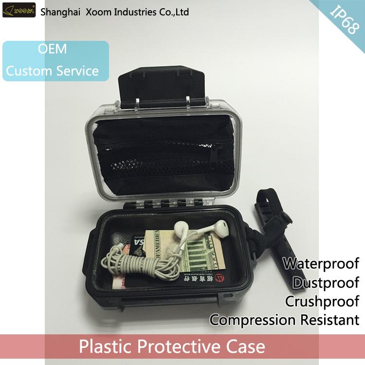 Pocket IP68 Plastic Waterproof Box Waterproof SD Card Box