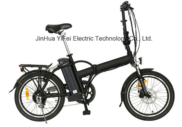 20 Inch City Foldable Electric Bicycle with Lithium Battery