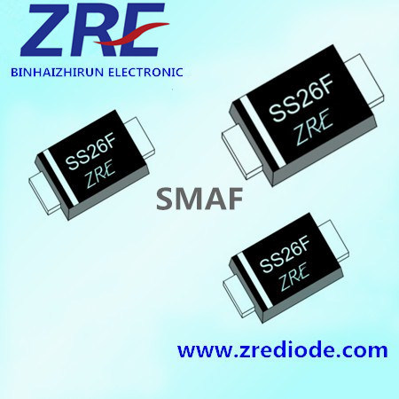1A Es1af Thru Es1jf Super Fast Recovery Rectifier Diode Smaf Package